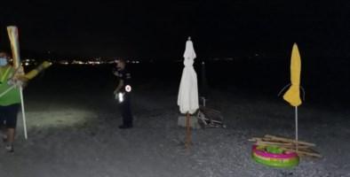La sera del sequestro in spiaggia
