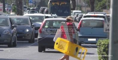 Controesodo, traffico intenso sulle strade calabresi: incidente tra Rende e Montalto