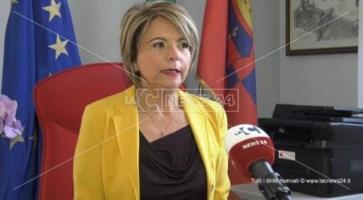 Il sindaco di Vibo Valentia, Maria Limardo