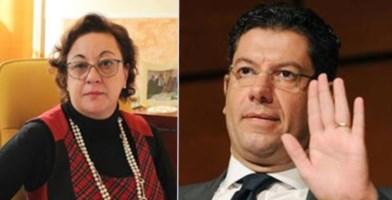 Maria Carmela Longo e Peppe Scopelliti