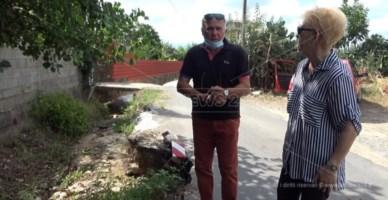 Lamezia Terme, strada crollata da anni mai riparata: cresce la paura per le piogge autunnali