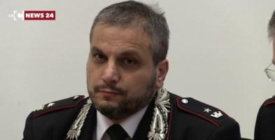 Il maggiore Valerio Palmieri