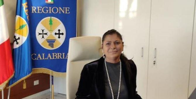La presidente della Giunta Regionale Jole Santelli