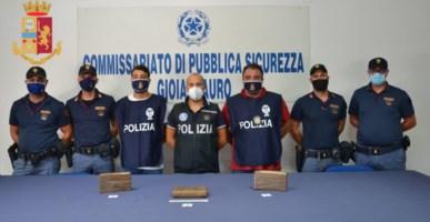 In auto con tre chili di cocaina, arrestato 39enne a Gioia Tauro