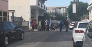 La protesta dei migranti ad Amantea