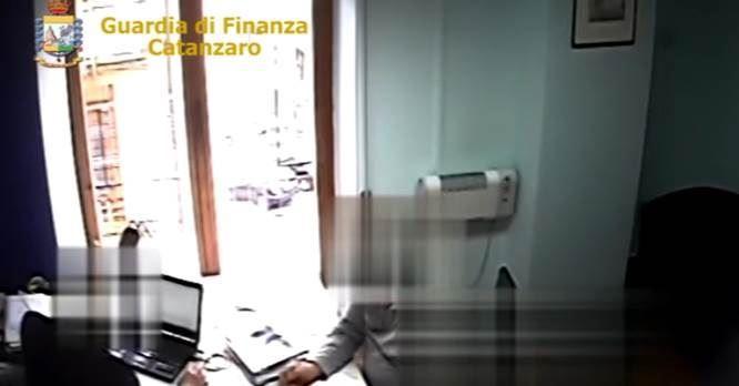 Un frame del video delle operazioni