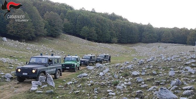 I controlli nelle località montane del Parco