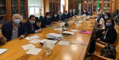 Il ministro della Salute, Roberto Speranza, ha incontrato i sindacati a Roma