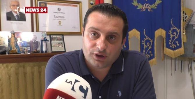Il sindaco Sebastiano Tarantino