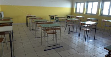 Un'aula scolastica