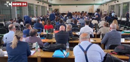 L'avvio del processo Rinascita nell'aula bunker di Roma