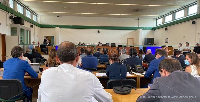 L'udienza preliminare nell'aula bunker di Rebibbia
