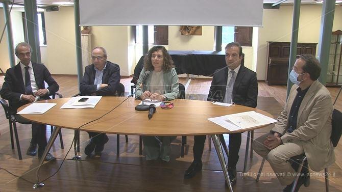 La conferenza stampa di presentazione degli interventi del Cis di Cosenza