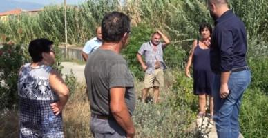 Lamezia Terme, il fiume Cantagalli fa ancora paura: «Alle prime piogge esonderà»