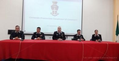 Carabinieri Catanzaro, quattro nuovi ufficiali per il comando provinciale