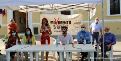 Elezioni comunali, Toninelli a Castrovillari per la candidatura a sindaco di Campanella