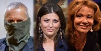 Da sinistra, Sergio Di Caprio (alias Capitano Ultimo), Jole Santelli e Sandra Savaglio