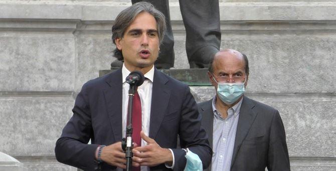 Giuseppe Falcomatà e Pierluigi Bersani