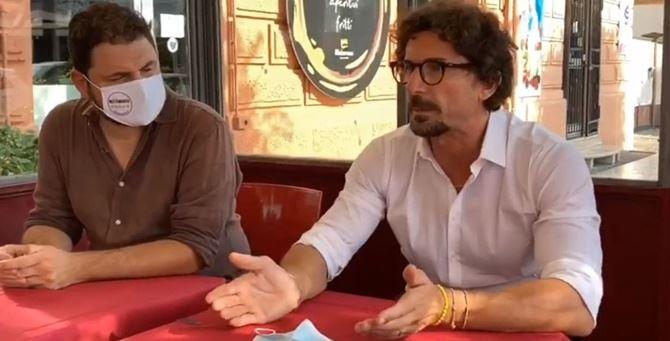 Andrea Coreggia e Danilo Toninelli