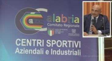 Centri sportivi, Di Tillo riconfermato alla presidenza del Csain Calabria