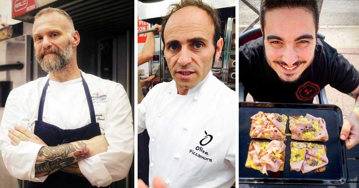Gabriele Bonci, Antonio Oliva e Franco Di Lelio