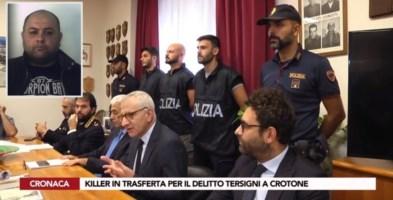 La conferenza stampa degli inquirenti dopo i primi arresti nell'autunno del 2019. Nel riquadro, Giuseppe Passalacqua