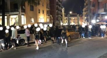 La movida del sabato sera a Cosenza
