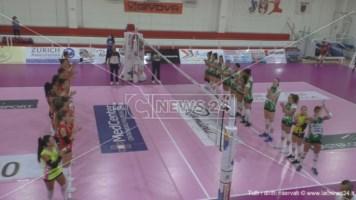 Pallavolo femminile A2, esordio amaro per la Volley Soverato: sconfitta in casa dal Vallefoglia