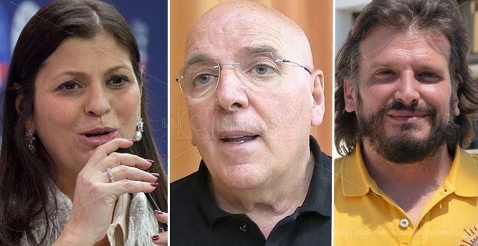 Jole Santelli, Mario Oliverio e Cristian Invernizzi