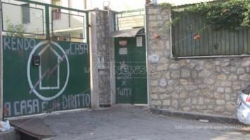 Cosenza, l'ingresso del complesso delle Canossiane