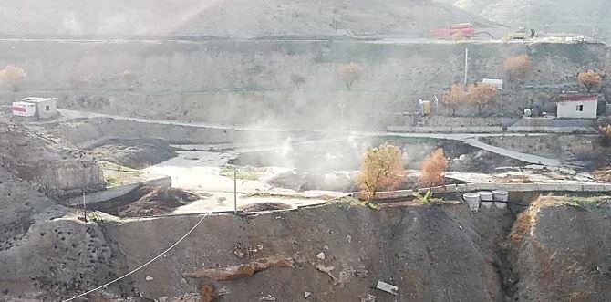 I fumi provenienti dalla discarica sita nel territorio di Motta San Giovanni