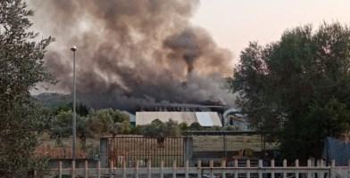 Siderno, nessuna traccia di diossina dopo l'incendio all'impianto rifiuti