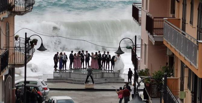 La foto di Giovanni Luca Bellantoni diventata virale