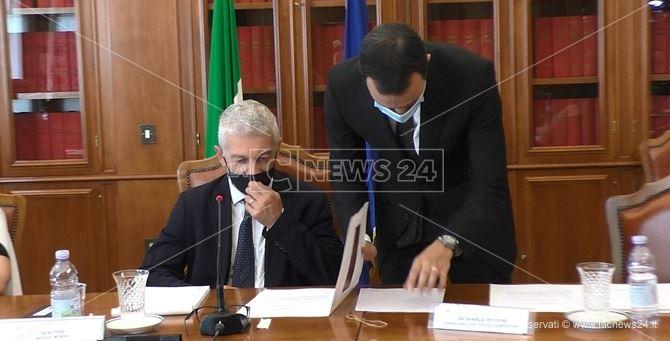 Il presidente della commissione parlamentare antimafia Nicola Morra