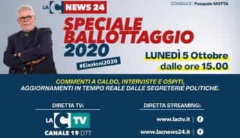 Speciale elezioni Calabria: tutti i risultati dei ballottaggi nella maratona di LaC Tv