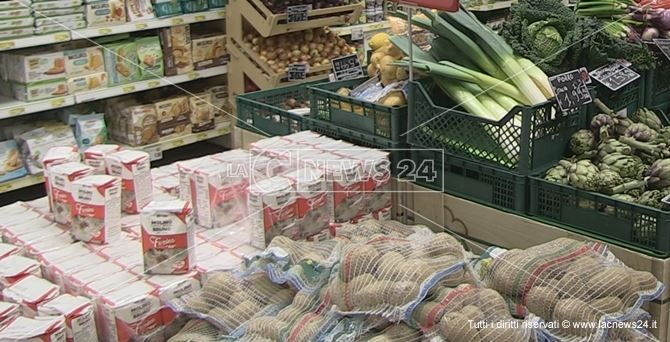 L'interno di un supermercato