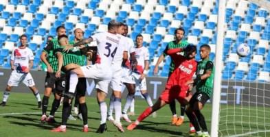 Seria A, per il Crotone terzo ko consecutivo: sconfitto 4-1 a Sassuolo