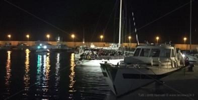 Sbarco migranti a Brancaleone, fermati i tre presunti scafisti