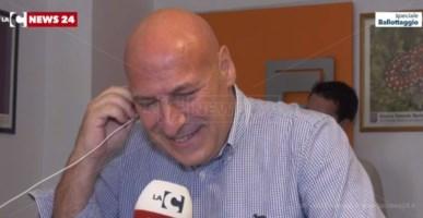Il sindaco di Crotone Vincenzo Voce