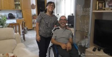 Disabilità: mezzi di trasporto inaccessibili nel Soveratese, l'appello di Mino e Colomba