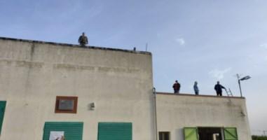 La protesta a Corigliano Rossano