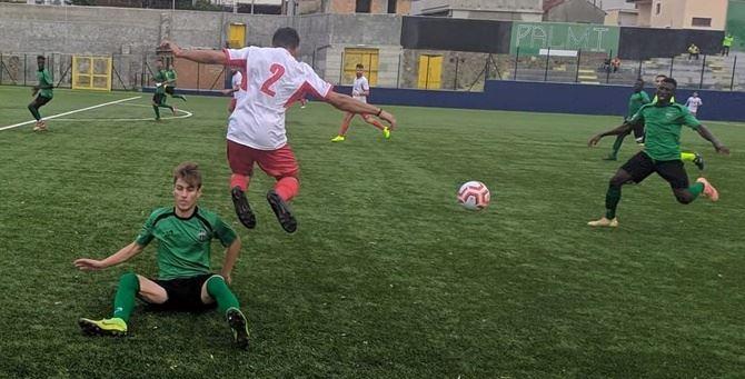 Il Gallico Catona nella partita di domenica contro la Palmese