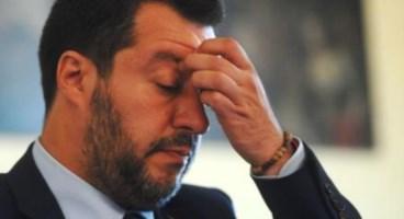 Matteo Salvini, foto ansa (di C. Longo)