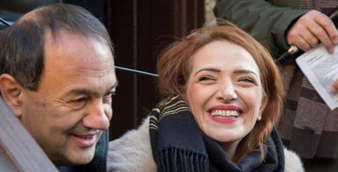Mimmo Lucano e Jasmine Cristallo