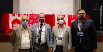 Da sinistra Bruno Cortese, Andrea Ponzo, Pino Varacalli e Antonio Favoino
