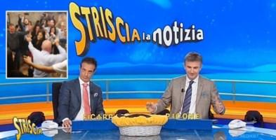 La tarantella a rischio Covid della Santelli finisce su Striscia e le Iene