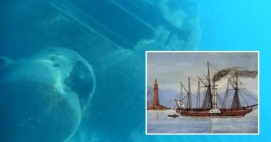 Il mistero dell'Ercole, la nave con Ippolito Nievo forse naufragata ad Amantea