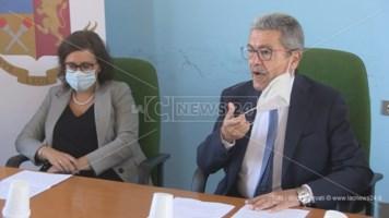 L'intervento del procuratore Mario Spagnuolo in conferenza stampa