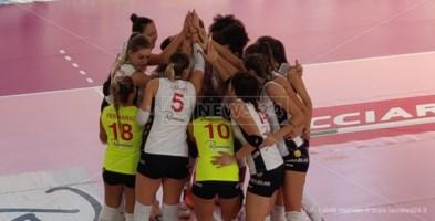 Pallavolo femminile A2, prima vittoria casalinga per la Volley Soverato