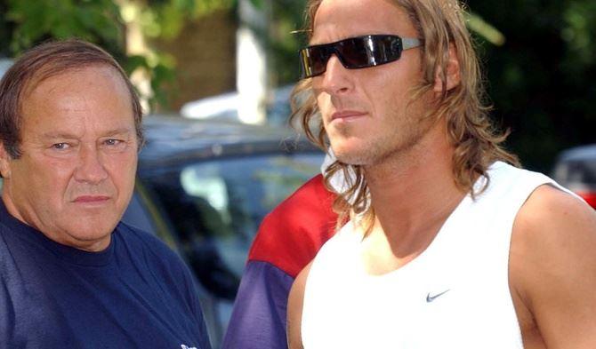 Enzo e Francesco Totti